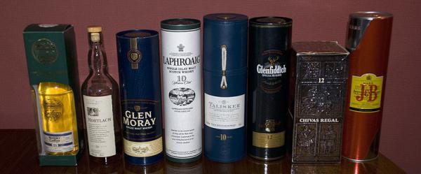 Skotské whisky